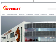WEBOV� STR�NKA SYNER,  s.r.o.