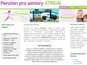 WEBOVÁ STRÁNKA Penzion pro seniory Atrium Liberec Promoveo Group a.s.