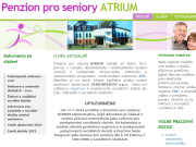 SITO WEB Penzion pro seniory Atrium Liberec Promoveo Group a.s.