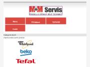 SITO WEB M+M servis pracky s.r.o.