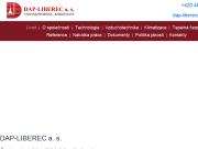 WEBOVÁ STRÁNKA DAP - LIBEREC a.s.