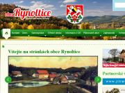 WEBOVÁ STRÁNKA Obecn� ��ad Rynoltice