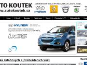 SITO WEB Auto Koutek, s.r.o.