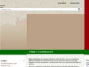SITO WEB Obec Loveckovice