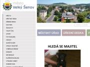 WEBOVÁ STRÁNKA M�sto Velk� �enov