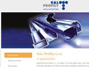 WEBOVÁ STRÁNKA K & L Profily s.r.o.