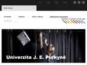 WEBOVÁ STRÁNKA Univerzita Jana Evangelisty Purkyně v Ústí nad Labem UJEP