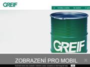 WEBSEITE Greif Czech Republic a.s.