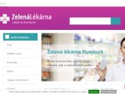 WEBOVÁ STRÁNKA Zelená lékárna - JLM, s.r.o.