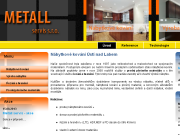 SITO WEB METALL servis s.r.o.