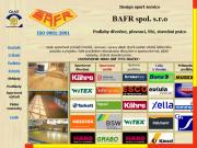 WEBOVÁ STRÁNKA Design sport service BAFR společnost s ručením omezeným