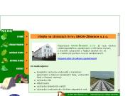 WEBOVÁ STRÁNKA EKOS-Žitenice s.r.o. Vodohospodářské stavby Žitenice