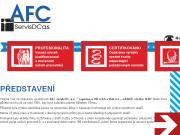 WEBOVÁ STRÁNKA AFC Servis DC a.s.