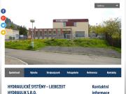 WEBOVÁ STRÁNKA LIEBEZEIT HYDRAULIK s.r.o. Hydraulick� syst�my Teplice