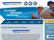 SITO WEB TRANS-REGION-STAV s.r.o. stavebni prace