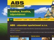 WEBOVÁ STRÁNKA ABS - stavební společnost s.r.o.