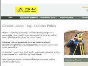 WEBOVÁ STRÁNKA Ing. Ladislav Polan Geodetická kancelář Louny