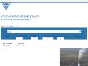 WEBOVÁ STRÁNKA Vodohospodářské stavby, společnost s ručením omezeným