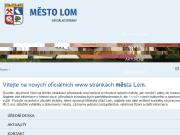 WEBOVÁ STRÁNKA Město Lom