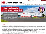 WEBOVÁ STRÁNKA HS UMFORMTECHNIK s.r.o. Výlisky z ocelového a hliníkového plechu