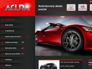 WEBOVÁ STRÁNKA ACURA spol. s r.o. prodej vozy Honda, Kia