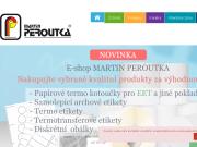 WEBOVÁ STRÁNKA Martin Peroutka Tiskárna a polygrafická výroba Kladno