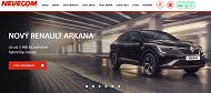 WEBOVÁ STRÁNKA NEVECOM spol. s r.o. Prodej a servis vozů Škoda Renault Dacia