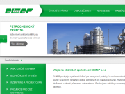 Strona (witryna) internetowa ELMEP s.r.o. Prumyslova automatizace