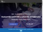 WEBOVÁ STRÁNKA Ing. Vladimíra Rippelová Daňový poradce Kladno