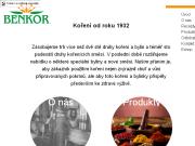 WEBOVÁ STRÁNKA BENKOR s.r.o. Výroba koření, bylin a sušené zeleniny