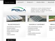 WEBOVÁ STRÁNKA POLA Neratovice s.r.o. Výroba sklolaminátových stavebních prvků