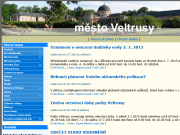 WEBOVÁ STRÁNKA Městský úřad Veltrusy