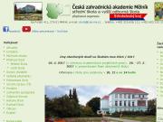 SITO WEB Ceska zahradnicka akademie Melnik - stredni skola a vyssi odborna skola, prispevkova organiza