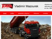 WEBOVÁ STRÁNKA TRUCK TRANS MAZOUREK Vladimír Mazourek