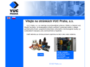 WEBOVÁ STRÁNKA VUC Praha, a.s. stroje a zařízení na klíč