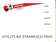 WEBOVÁ STRÁNKA PRAVE Rakovník, akciová společnost