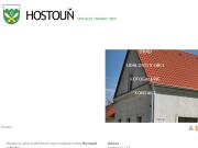 SITO WEB Obec Hostoun