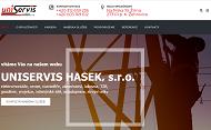 WEBSEITE Uniservis Hasek s.r.o.