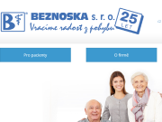 WEBOVÁ STRÁNKA Beznoska s.r.o.