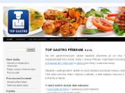WEBOVÁ STRÁNKA TOP GASTRO PŘÍBRAM, s.r.o.