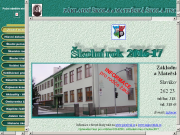 SITO WEB Zakladni skola a Materska skola Jince