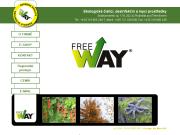 WEBOVÁ STRÁNKA FREE WAY, odbytová a výrobní společnost s.r.o. Ekologické čisticí prostředky eshop