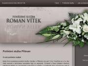 WEBOVÁ STRÁNKA Pohřební služba Na Hvězdičce - Obřadní síň Vítek Roman