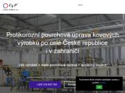 WEBOVÁ STRÁNKA CVP GALVANIKA, s.r.o. Povrchov� �prava P��bram