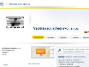 WEBOVÁ STRÁNKA Vzdělávací středisko, s.r.o.