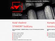 SITO WEB KOLAR VLADIMIR - STAMONT Strechy a krovy na klic Sedlcany