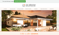 WEBOVÁ STRÁNKA HK - Dřestav s.r.o. Dřevostavby, dřevěné domy výstavba