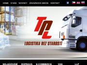 WEBOVÁ STRÁNKA TPL Czech s.r.o.