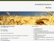 WEBOVÁ STRÁNKA Zemědělské družstvo Mořina