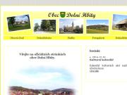 WEBOVÁ STRÁNKA Obec Dolní Hbity